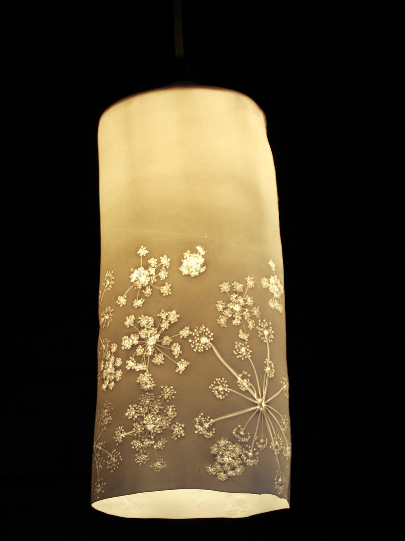 9. Poison Hemlock pendant light
