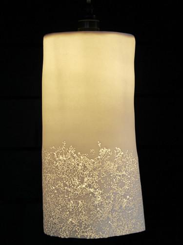 7. Elderflower pendant light