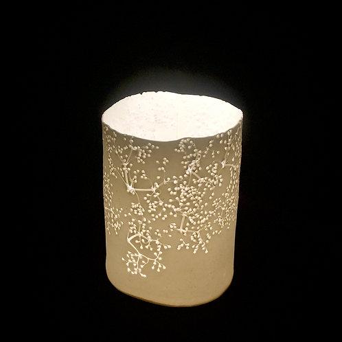 8. Elderflower T light holder