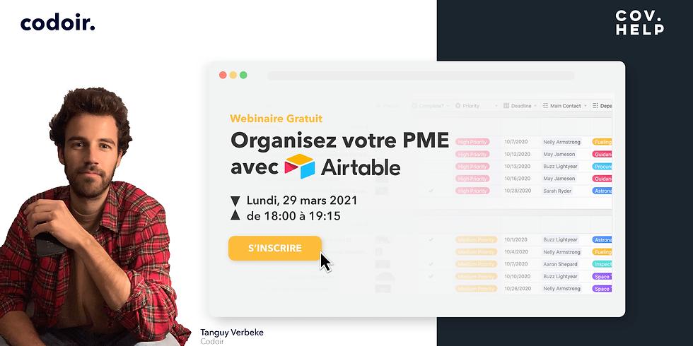 Organiser votre PME avec Airtable