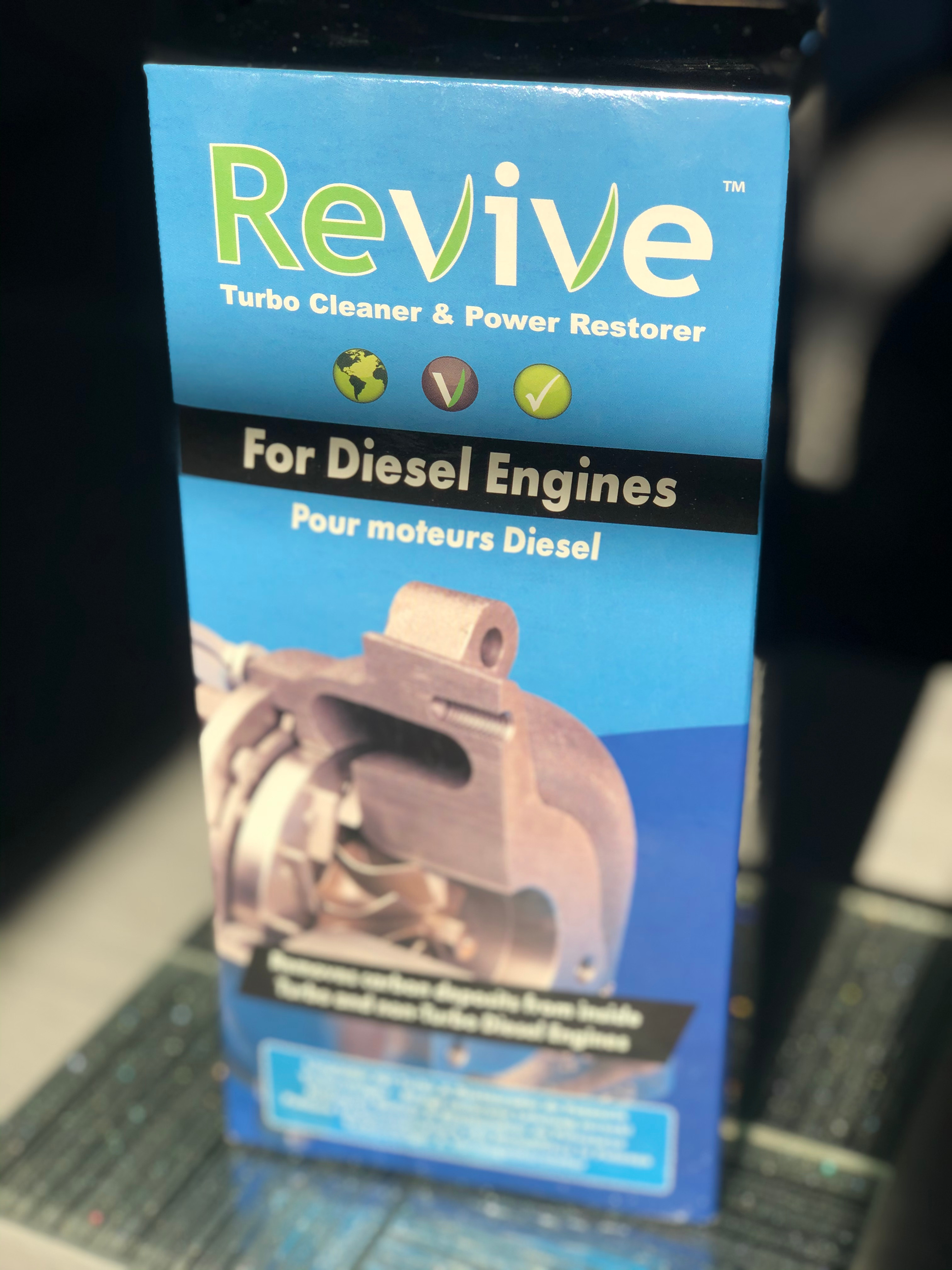 REVIVE LIQUID inlet manifold cleaner
