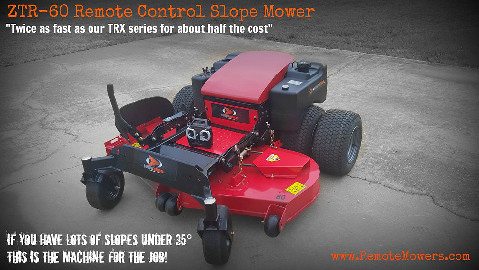 60 inch Remote Control Slope Mower