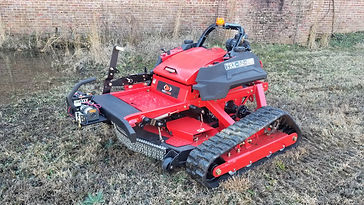Remote Slope Mower