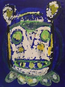 Green Eyed Bear, 2016