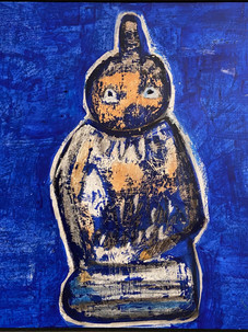 Blue Buddha, 2020