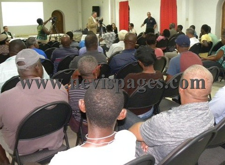 Nevis Public Meeting for Environmental Impact Assessment