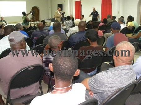 Nevis Public Meeting for Environmental Impact Assessment