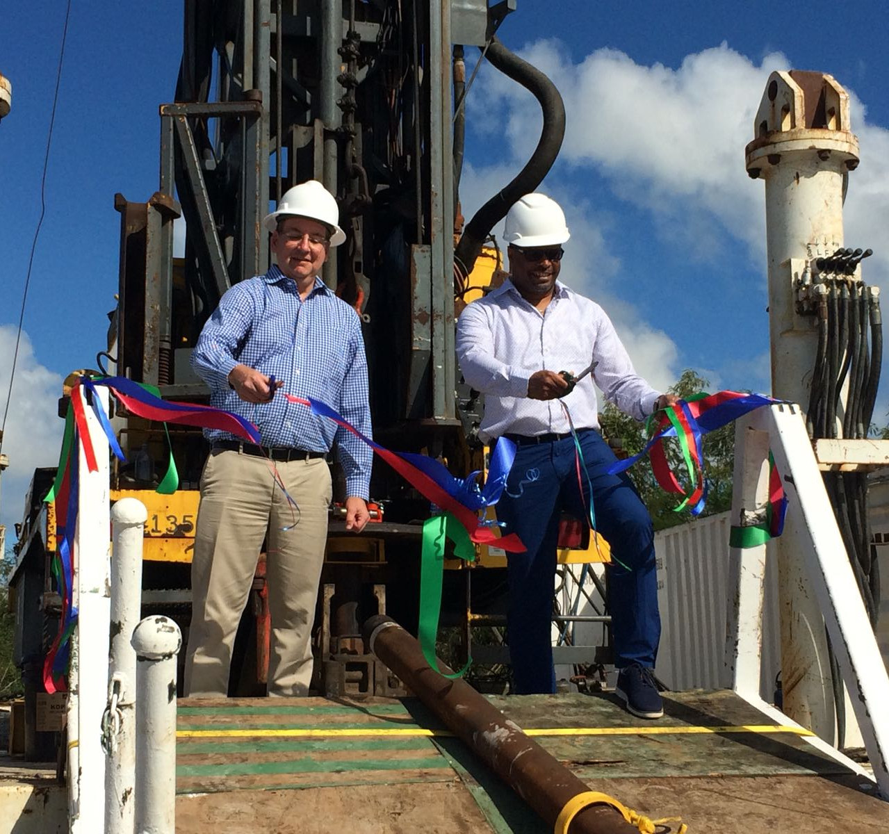 Geothermal_Test_Well_Ribbon_Cutting_DP_Mark Brantley_TEP_President_
