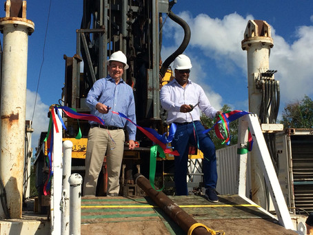 Breaking News: Geothermal Test Well Drilling Commences w Ribbon Cutting Ceremony