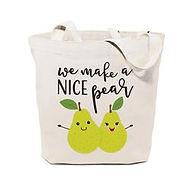 We_Make_a_Nice_Pear_Plain_Tote_Bag_Thumb