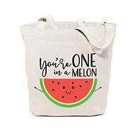 One_in_a_Melon_Plain_Tote_Bag_Thumb_250x