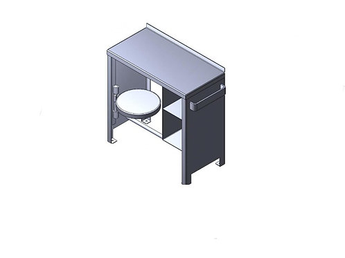 Floor Mounted Desk