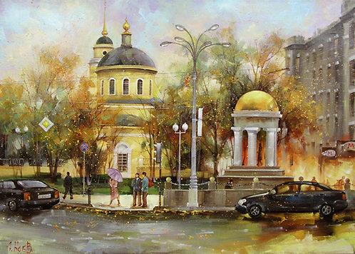 Москва. Вид на Храм Вознесения Господня