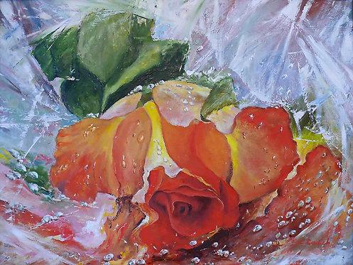 «Как странно  улыбнулась роза».