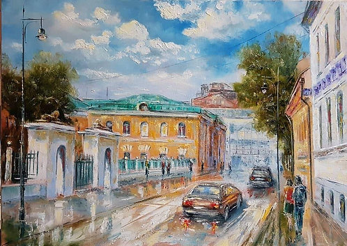 Москва. Армянский переулок.