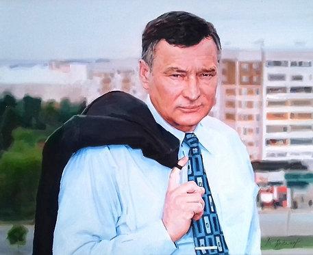 Портрет первого мэра ижевска