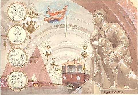 Музы Московского метро
