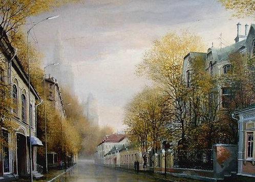 Москва. Поварская