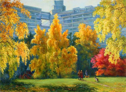 Осень в Чертаново.