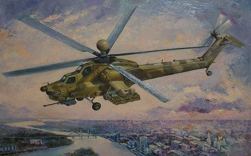 Ночной охотник Ми-28Н