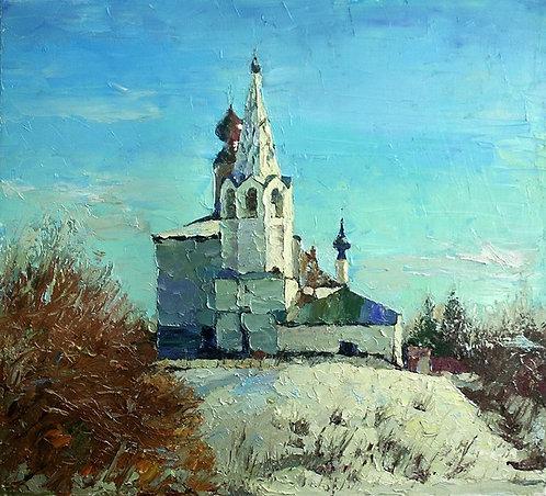 Суздаль. Космодемьянская церковь.