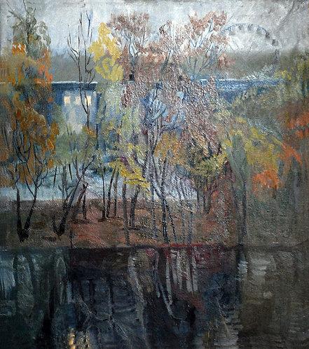Поздняя осень в Сокольниках
