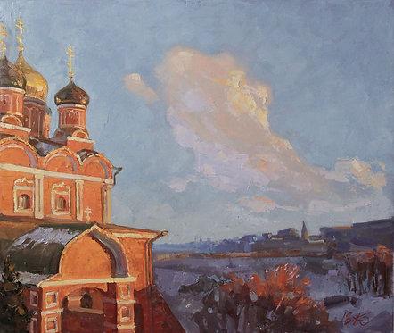 Собор Знаменского монастыря на Варварке