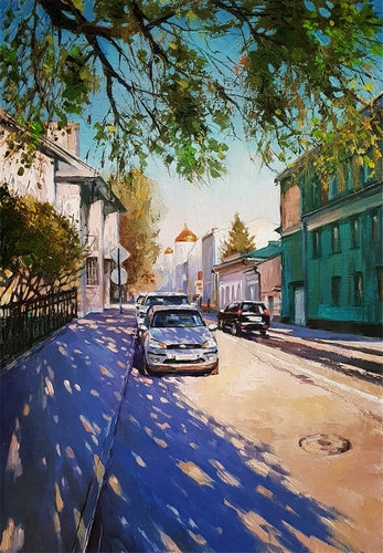 Тихий май. Гагаринский переулок