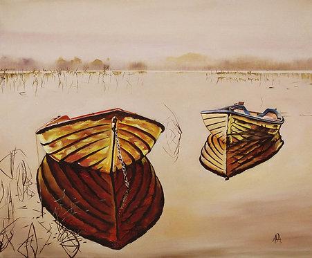 Лодки в теплом молоке