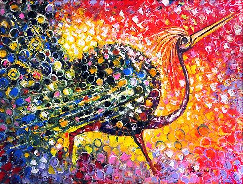 Птица счастья денежная