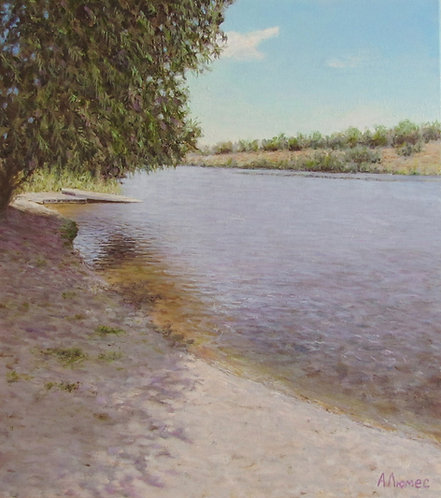 На речке