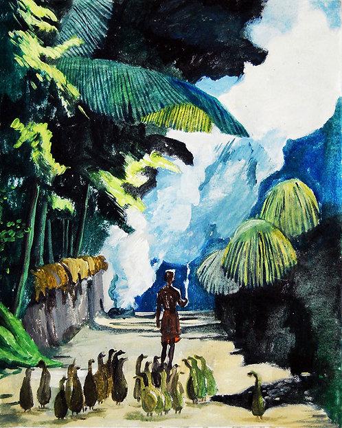 Период дождей на Бали