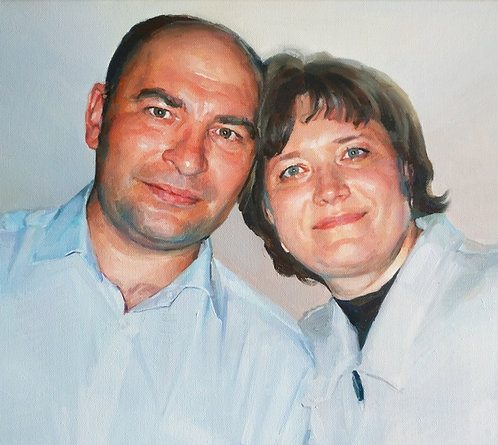 Портрет семейной пары