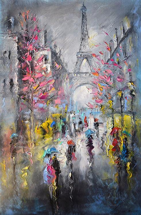 После дождя. Париж