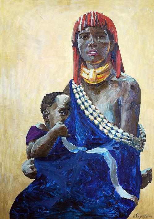 Африка. Мать