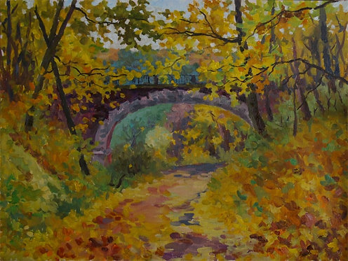 Старинный мост в Суханово