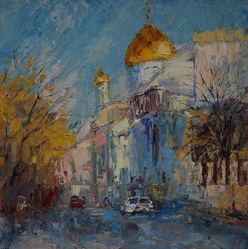 Гагаринский переулок. Москва