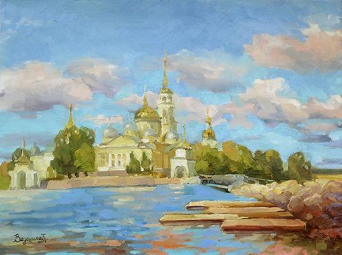 Нилово-Столбенский монастырь. Утро