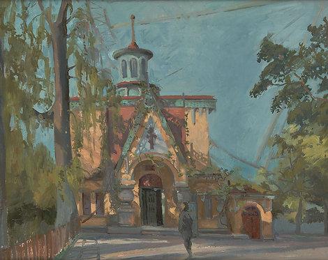 Харбин, старая русская церковь