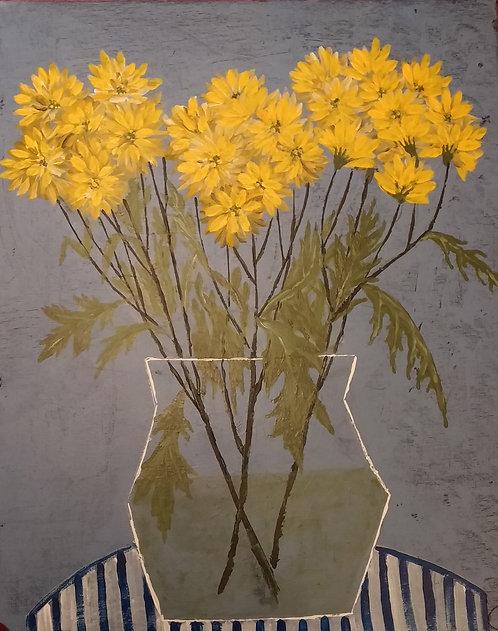 Букет от друзей или жёлтые цветы