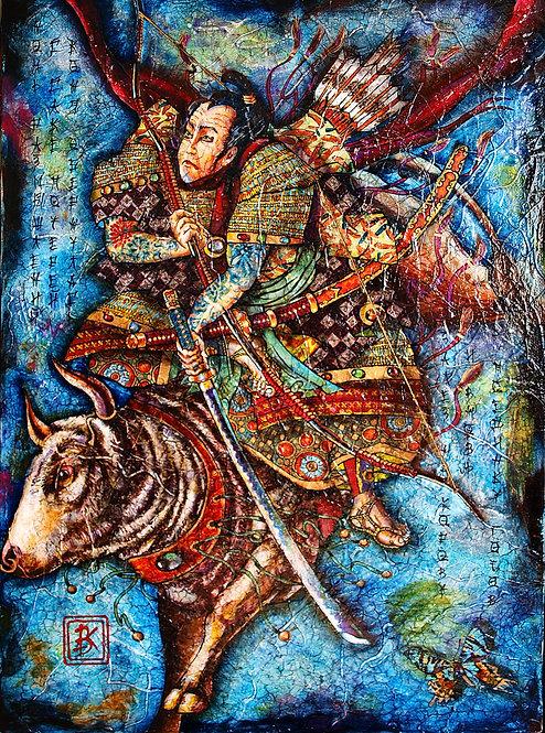 Ночь размышлений с саке потерей коня обернулась...