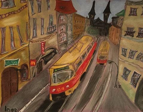 Пражские трамвайчики