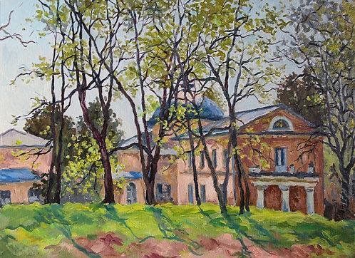 Ранняя зелень в Суханово