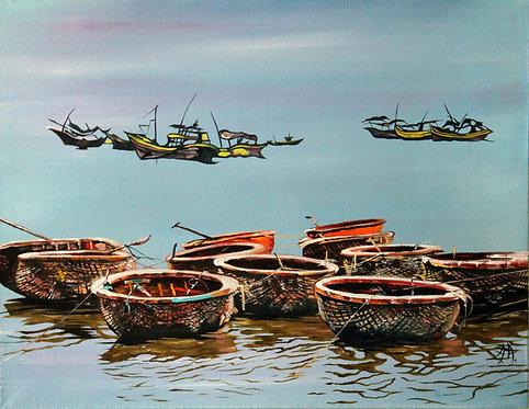 Вьетнам. Лодки