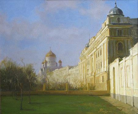 Утро в Москве