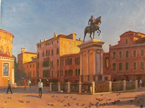 Венеция. Площадь Дзанниполо