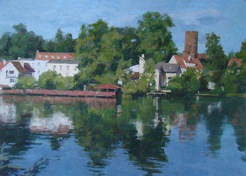 Озеро в Лагове. Польша