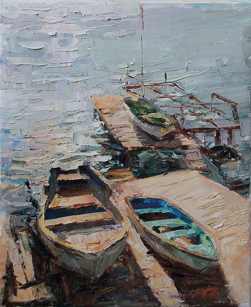 Лодки. Гурзуф