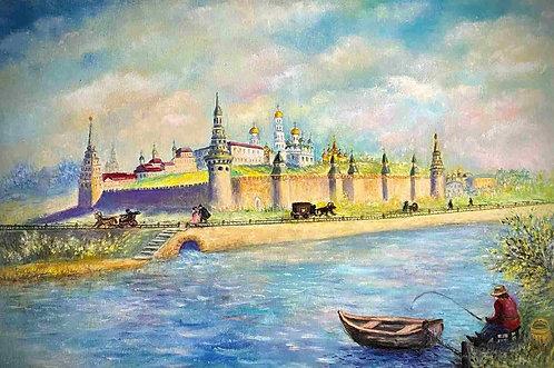 МОСКВА, КРЕМЛЬ В XVIII ВЕКЕ
