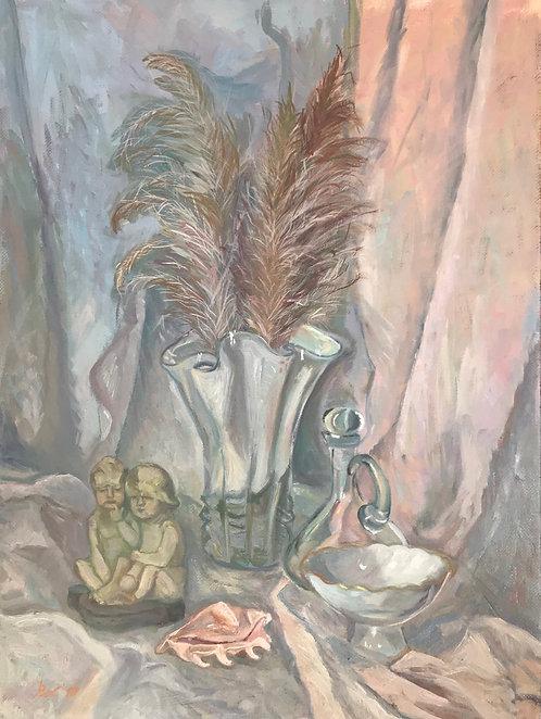 Натюрморт с муранской вазой